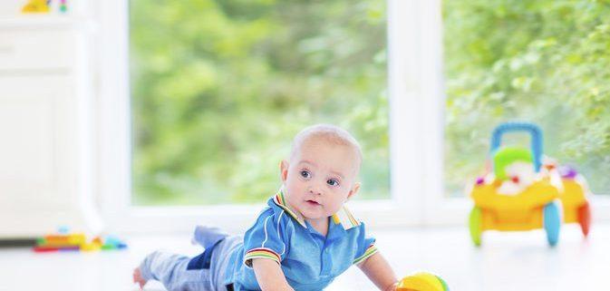 ورزش برای گردن گرفتن نوزاد