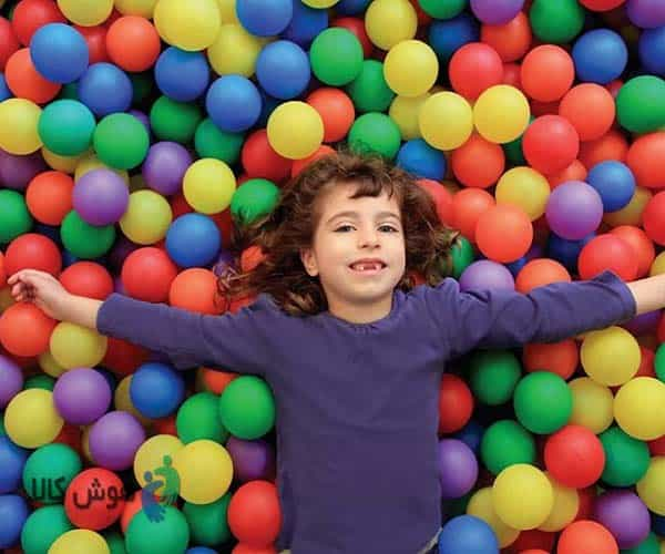 اسباب بازی توپ کمک به حرف زدن بچه ها