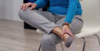 تمرین تغییر مچ پا در بیماران سکته